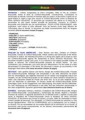 global sauver le congo brazzaville en 2016 en 9 langues