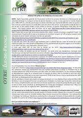 news otre idf 14 octobre 2015