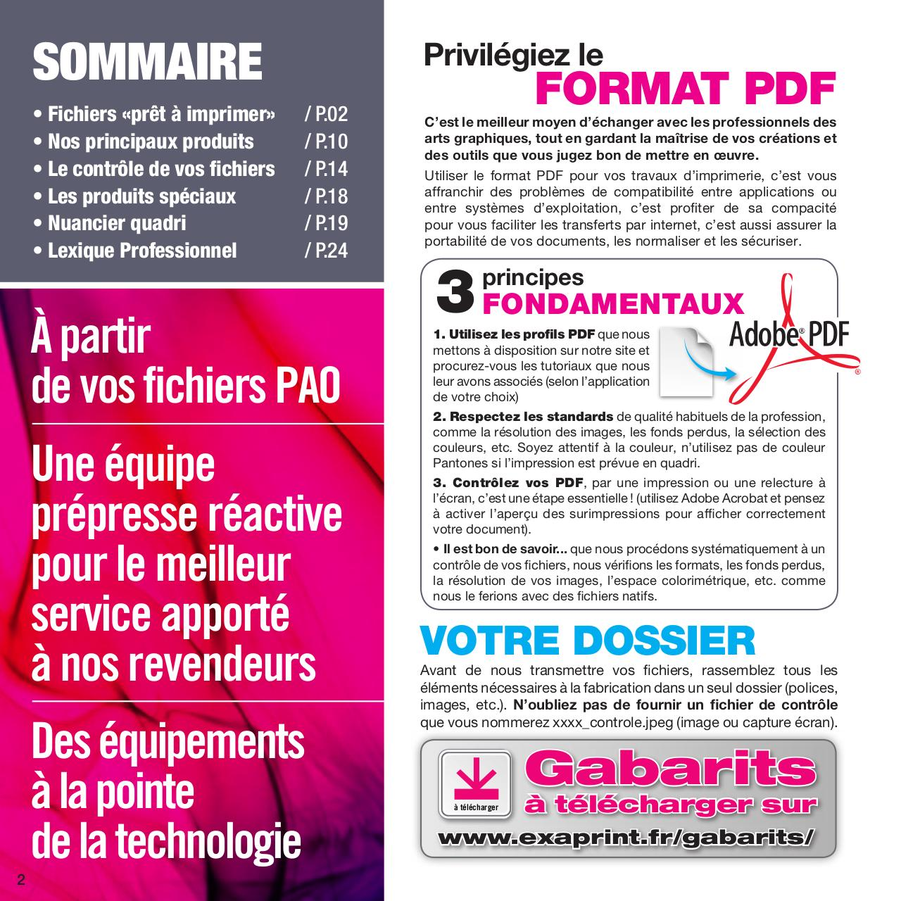 GUIDE PAO EXAPRINT 2014pdf