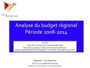 Fichier PDF budget regional 2008 2014