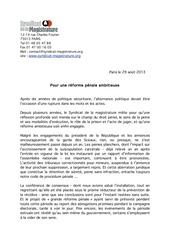 Fichier PDF pour une reforme penale ambitieuse 2