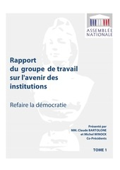 rapport groupe travail avenir institutions t1