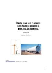 rapport sur les risques sanitaires alain 05 2014 v2 4 2