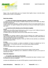 151020 info marche france cereales