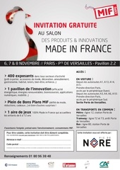 invitation mif expo 2015 pic de nore