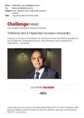 newsletter oct 20th challenge
