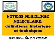 cours l1 bio mol etudiant bon