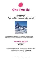 Fichier PDF one two ski