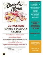 flyer soiree beaujolais a loisey