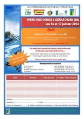 week end neige 2016