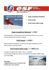 Fichier PDF stage competition ski esf serre chevalier saison 2015
