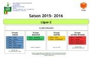 calendrier f l2 2015 2016