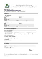 Fichier PDF demande autorisation stationnement
