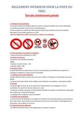 reglement interieur du trec 1