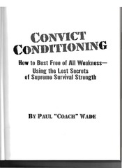 Convict Conditioning - Paul Wade.pdf - page 2/303
