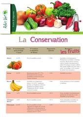 Fichier PDF la conservation