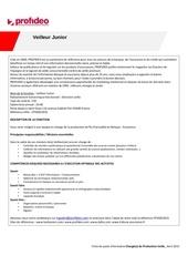 profideo veilleur junior cpv0022015 1