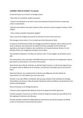 Fichier PDF comment virer un huissier