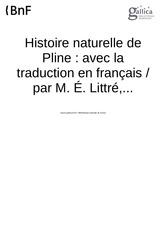 Fichier PDF pline histoire naturelle t ii