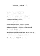 Rencontres equestres luneville 2016 programme