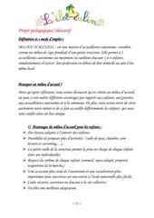 Fichier PDF projet pedagogique educatif