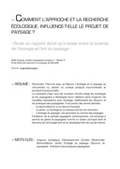 3 ecologie paysage article 2014 belleth
