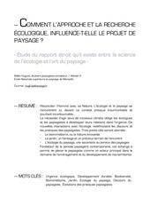 3 ecologie paysage article 2014 belleth