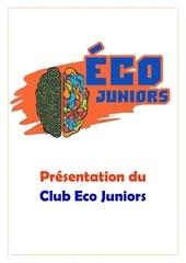 presentation du club eco juniors