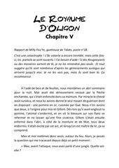 le royaume d oligon chapitre 5