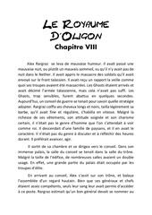 le royaume d oligon chapitre 8