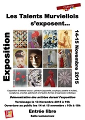 affiche expo artistes 2015