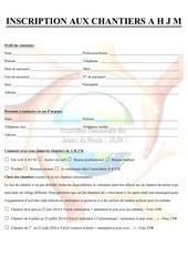 Fichier PDF fiche d inscription aux chantiers