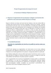 Fichier PDF projet d organisation du travail