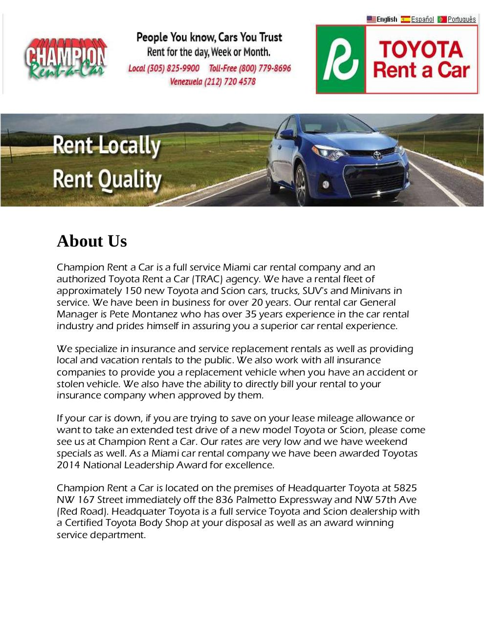 Car Rental Miami.pdf - page 1/4