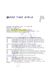 Fichier PDF good time girls