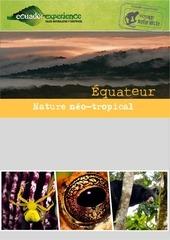 Fichier PDF nature neo tropicale voyage 2015 ecuador experience