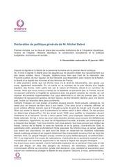 Fichier PDF declaration de politique generale de m