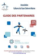 guide des partenaires 2015 cultures du coeur 77