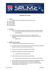 reglement 6h lannoy groupe c sh 1