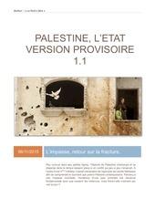 palestine l etat