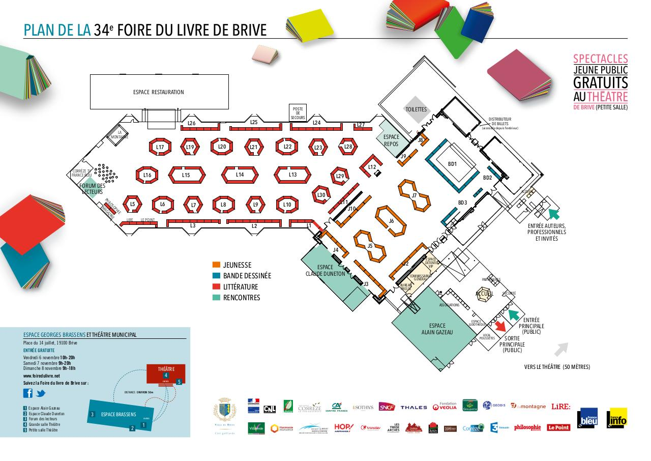 plan foire du livre de brive fichier pdf. Black Bedroom Furniture Sets. Home Design Ideas