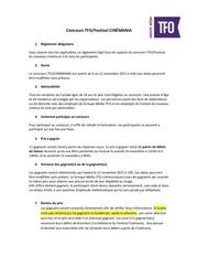 Fichier PDF reglements concours cinemania