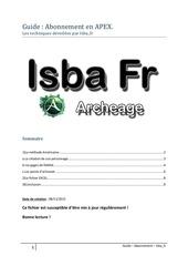 Fichier PDF apex