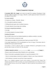 contrat bruxelles bde aes 1