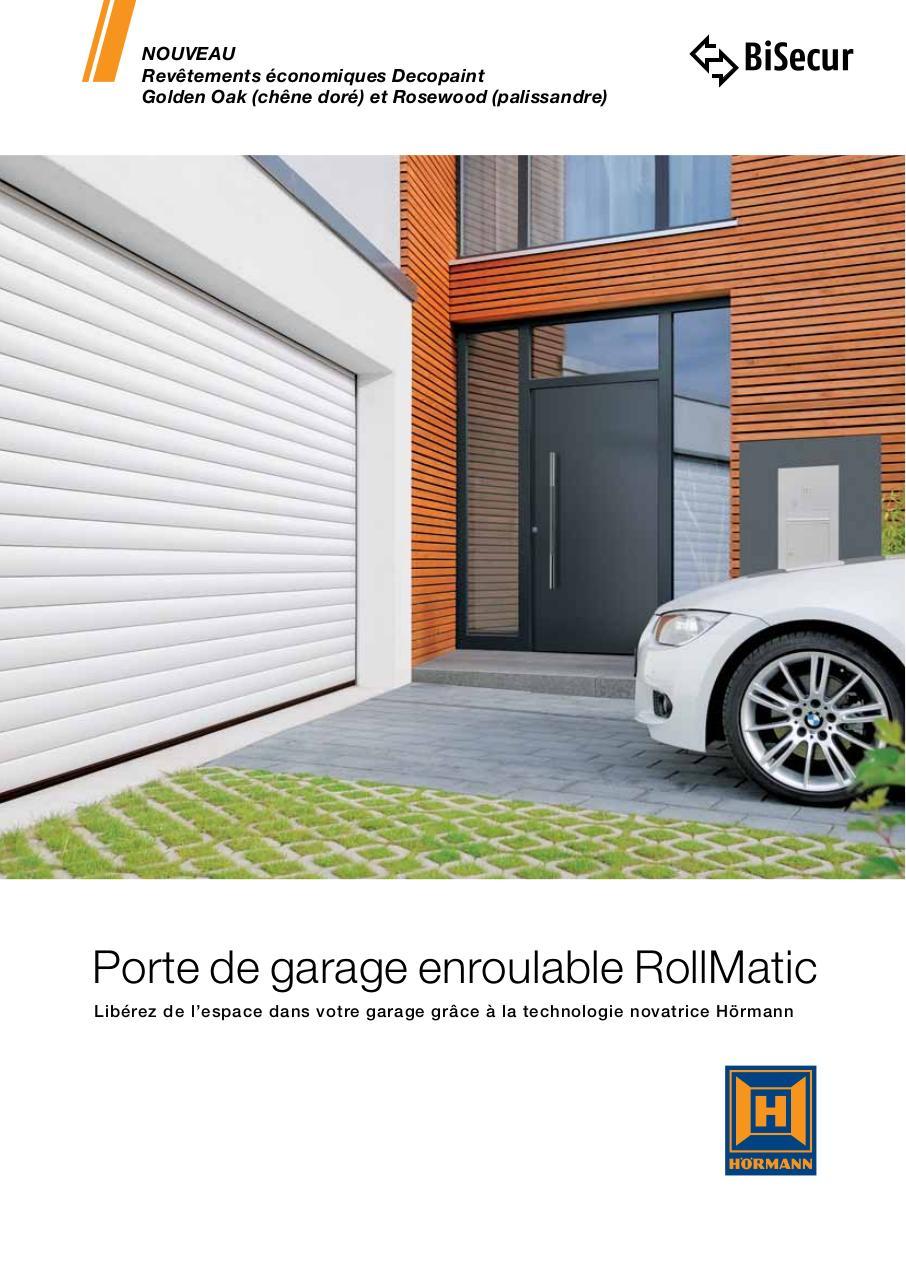porte de garage sectionnelle lat rale fichier pdf. Black Bedroom Furniture Sets. Home Design Ideas