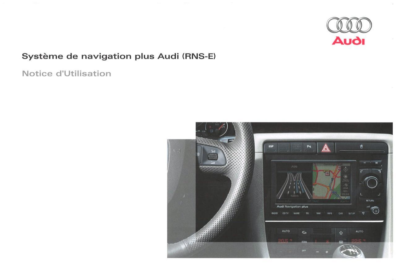 manuel audi rns e fichier pdf rh fichier pdf fr Audi Navigation System Audi A4 B6