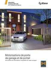 motorisation portail et porte de garage