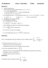 serie suites reelles bac math