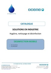 industrie desinfection mobile