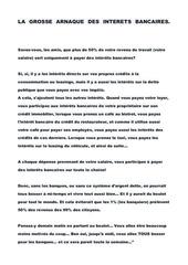 Fichier PDF la grosse arnaque des interets bancaires